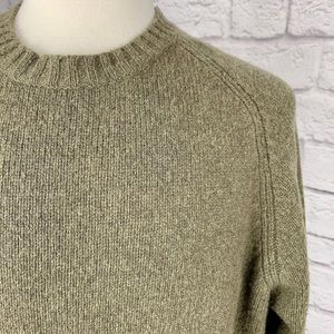 VINTAGE J. CREW WOOL CREW NECK SWEATER PULLOVER